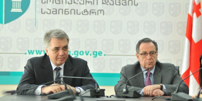 At the meeting with a group of international experts, Georgian Health Minister David Sergeenko made focus on the quality of medical treatments in Georgia.