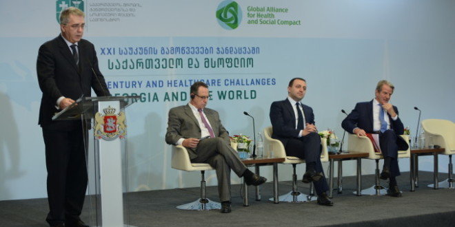 Global Alliance hosted, conference- Healthcare Challenges in the 21st Century. Georgian authorities' as well Georgian doctors attended the conference.