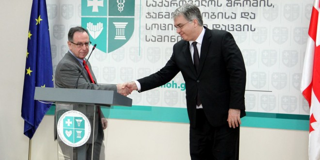 David Sergeenko and President of Global Alliance Jean-Elie Malkin have held a joint news conference and introduced a joint social project – What Hurts?